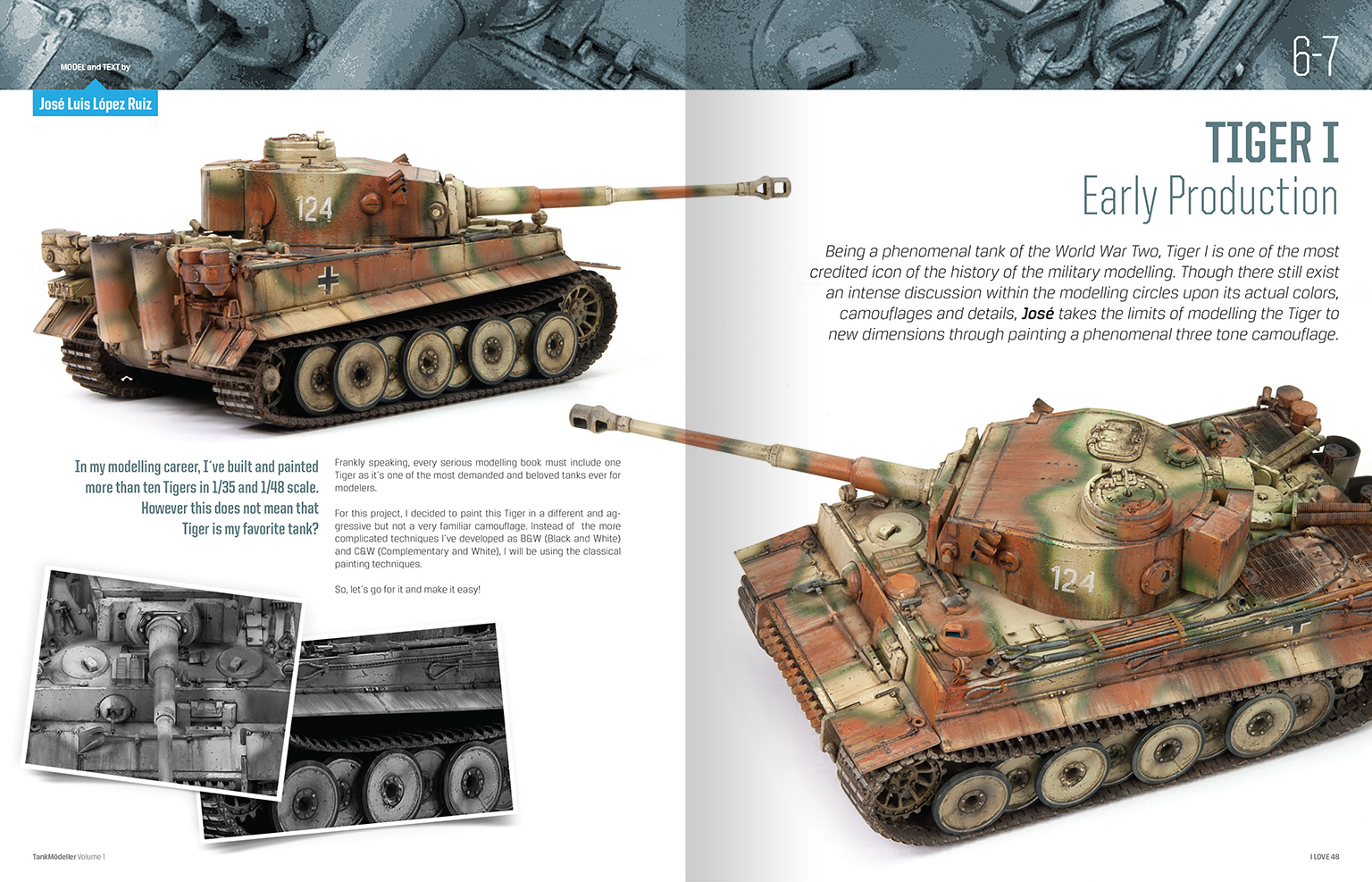 Kitap Dergi Puzzle Tank Modeller Modelling Books